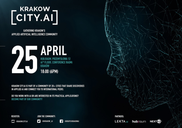 Krakow AI - Happening 25th of April