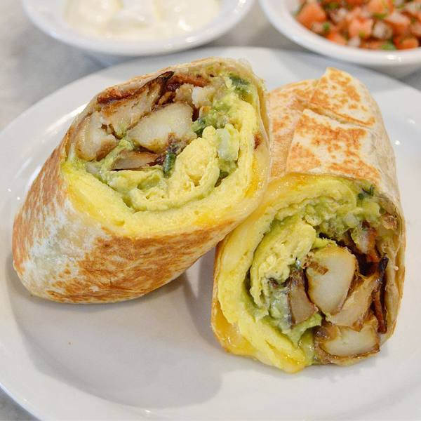 """Breakfast Burrito"" by Joan's On Third (@crystalcoser)"