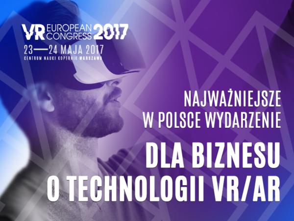 Zapraszamy na najważniejsze wydarzenie dla polskiej branży VR w tym roku!