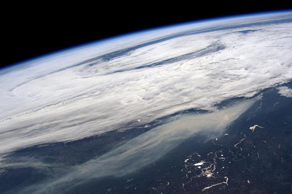 Verschillende NASA-satellieten bestuderen verandering in het klimaat op aarde (foto: NASA)