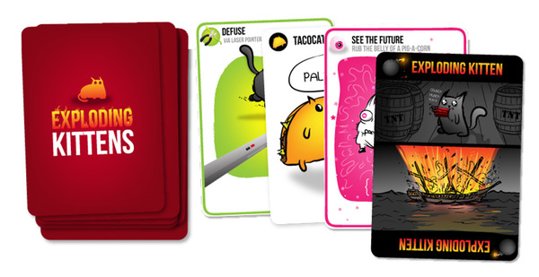 Exploding Kittens raised $8.8 million in 30 days on Kickstarter and has sold more than 2.5 million games