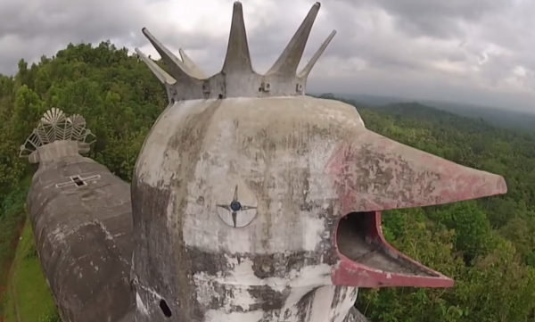 Gereja Ayam, the Abandoned Chicken Church – Indonesia- Atlas Obscura