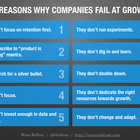 Growth Is Optional: 10 Reasons Why Companies Fail At Growth