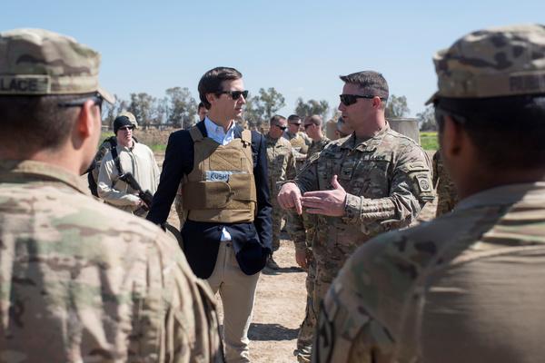 Trump stuurde vorige week zijn schoonzoon Jared Kushner naar Irak. Het is een teken van de groeiende invloed van Kushner (foto: Reuters)