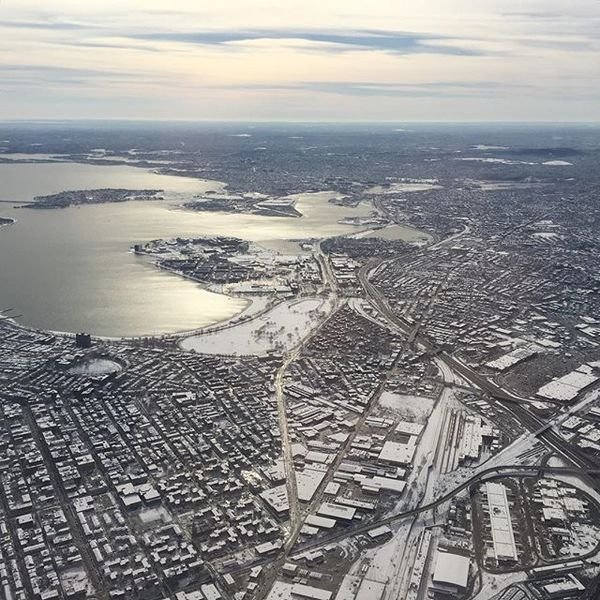 Or is the city the ultimate processing unit? Hmm... looks an awful lot like a chip ;) (Boston in the winter)
