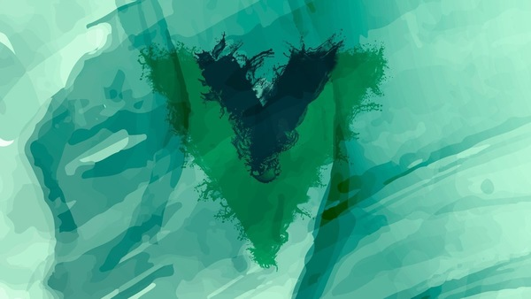 Vue inspired wallpaper. Click to download! :)