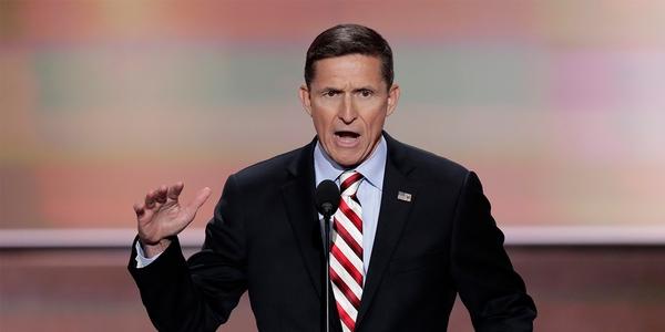 De ontslagen veiligheidsadviseur Michael Flynn (foto: Reuters)