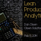 Lean Product Analytics by Dan Olsen