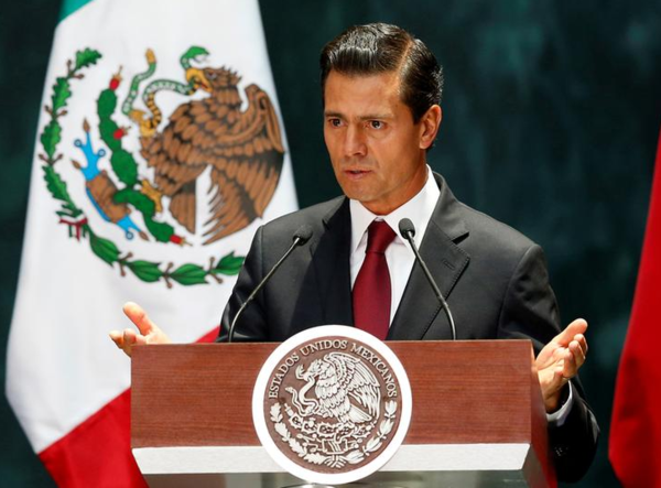 De Mexicaanse president Enrique Pena Nieto (foto: Reuters)