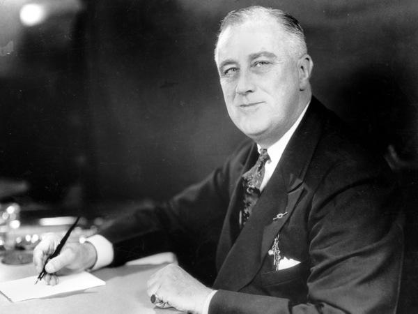 President Roosevelt creëerde het idee van de eerste honderd dagen als maatstaf