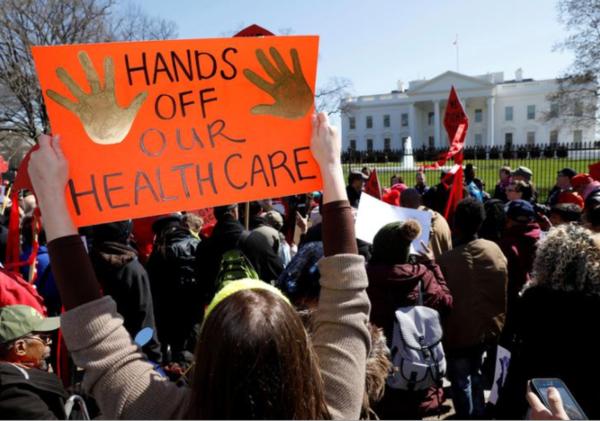 Pogingen om Obamacare te ontmantelen zijn mislukt (foto: Reuters)
