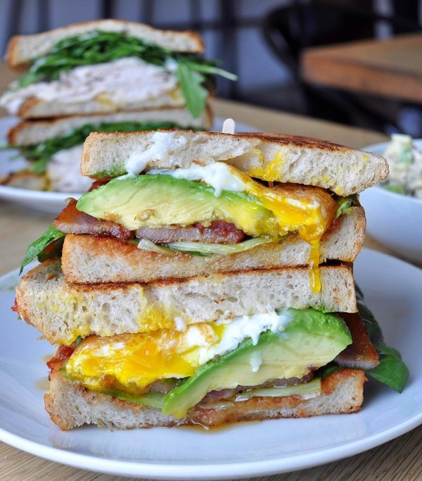 """Avocado BLT"" by Fundamental LA (@kateatsla)"