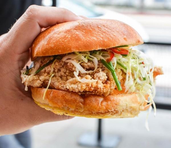 """Fried Chicken Sandwich"" by Kato @ The Cannibal (@overoverunder)"