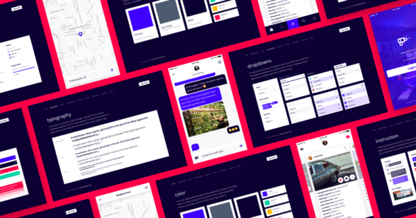Mobile Design System by UX Power Tools
