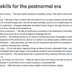 10 work skills for the postnormal era – Work Futures