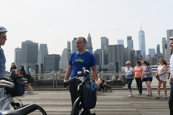 """Bike tour at the beginning of every city trip I do to get to """"know"""" the city"""