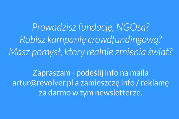 Zapraszam do kontaktu na artur@revolver.pl