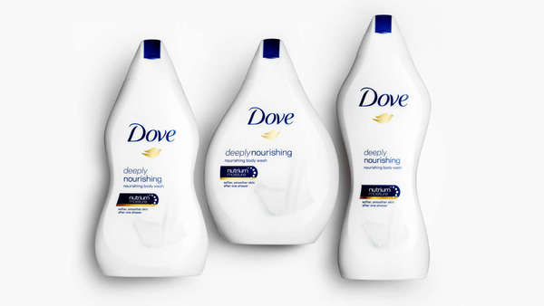 Dove Matches Its New Body Wash Bottles To Your Body Type