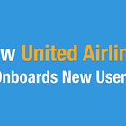 How United onboards new users 🛬🔥