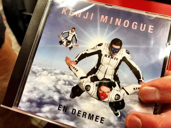 Zo ziet de nieuwe cd eruit.