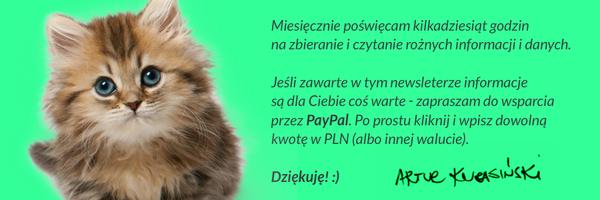 😄Wesprzyj poprzez kliknięcie w kotka i przelew za pomocą PayPala!😄