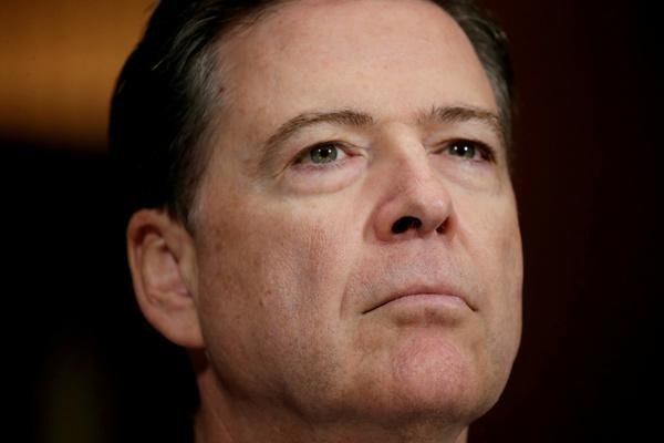 De ontslagen FBI-directeur James Comey (foto: Reuters)