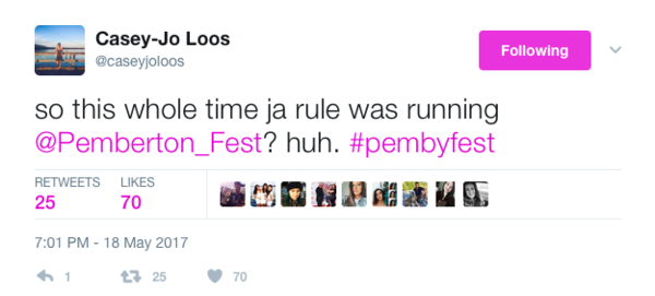 Maybe hold off buying any more festival tickets until 2018...