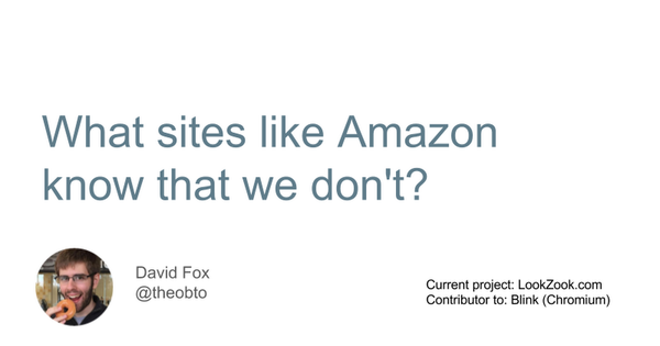 What Amazon Knows And We Don't - Google Slides