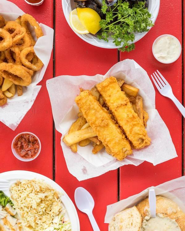 """""""Fish & Chips"""" by Malibu Seafood (@meetjakob)"""