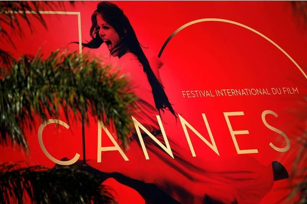 This year's poster of the Cannes Filmfest