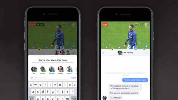 Facebook introduces Live Chat with Friends & Live With