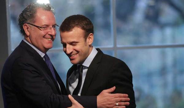 Richard Ferrand (links)