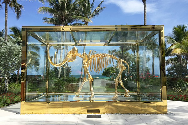 """Amanda: They spent $18,000,000 on a gold-plated wooly mammoth skeleton. I got a behind-the-scenes tour and loved it. The design is incredible."""""""