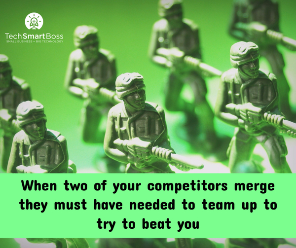 Don't fret your competitors, keep doing you :-)