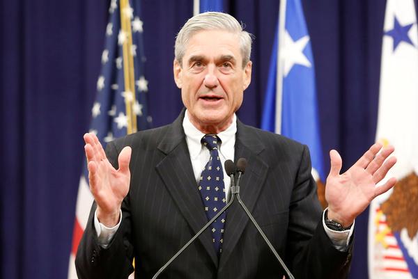 De speciale aanklager Bob Mueller (foto: Reuters)