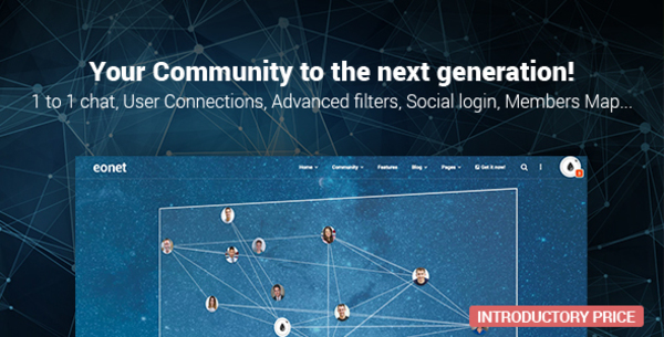 (aff) Eonet - Responsive Communities & Networks WordPress Theme