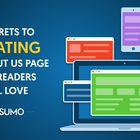 5 Secrets to Creating an About Us Page New Readers Will Love
