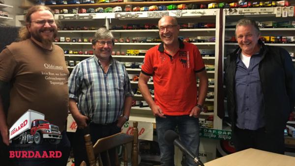 Truckstop Burdaard forum: Alex Miedema, Auke Spijksma, Iep van der Meer en Klaas Westra