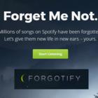 Forgotify: Explore Forgotten Spotify Music