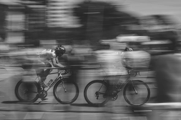 It feels like a bike race sometimes -- but I'm doing well. (Photo credit: Unsplash.com)