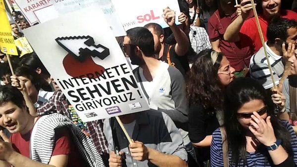 """""""İnternetime Dokunma!"""" Yürüyüşü, 15 Mayıs 2011"""