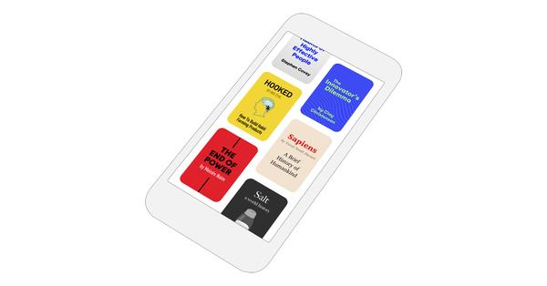Hardbound'daki kitaplar beş dakika içinde ve kolayca okunabiliyor