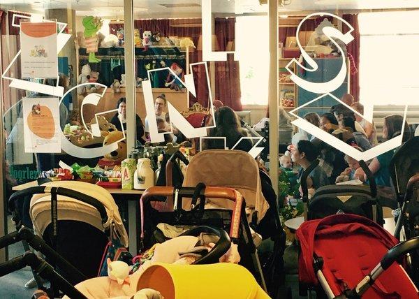 Buggy's in de bibliotheek betekent slimme baby's!