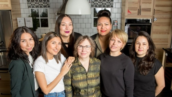 The makers behind Setsuné Indigenous Fashion Incubator's for Ikea