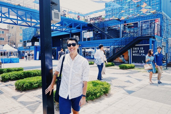 A day out at Common Grounds, the hip/trendy repurposed container park.