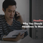 Why Do Some Blogs Write More Than One Headline For A Blog Post?