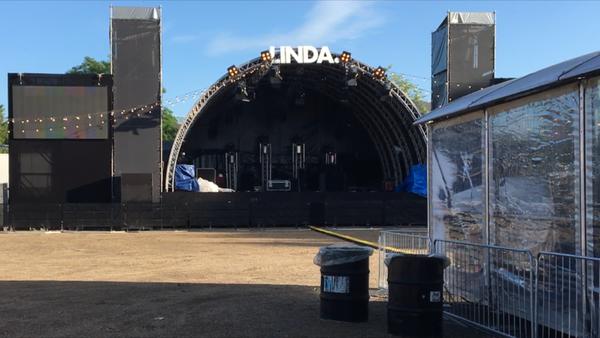 Backstage bij LINDA. (klik op de afbeelding voor het artikel met het filmpje)