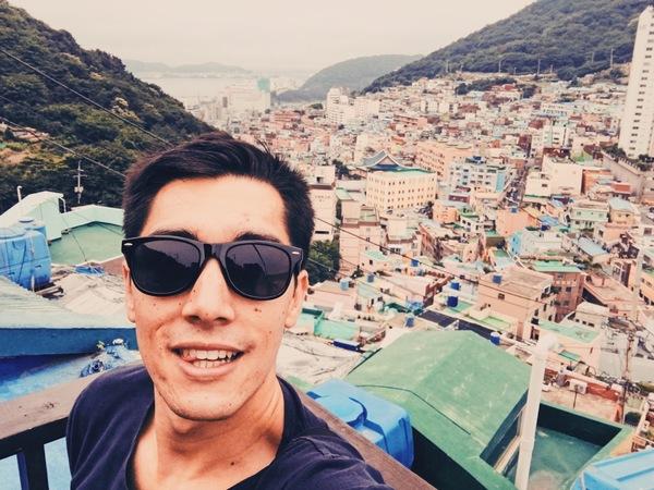 Overlooking the Gamcheon Culture Village