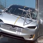 NHTSA Tesla Model X crash test videos highlight safety-first design