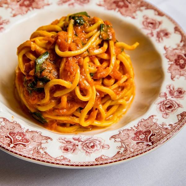 """Pasta Al Pomodoro"" by The Ponte (@hungryinla)"